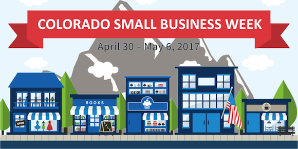 Colorado Small Business Week flyer