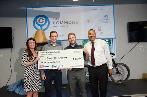 Guerrilla Gravity wins a prize at The Commons on Champa.