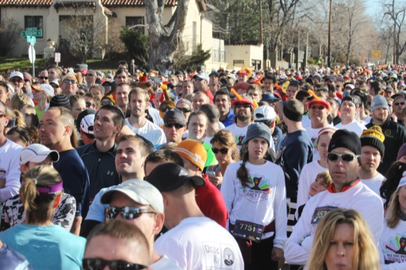 The2013 Turkey Trot attracted 10,000 runners.