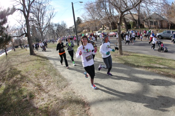 The 2013 Turkey Trot was the biggest one in the race's 40-year history.