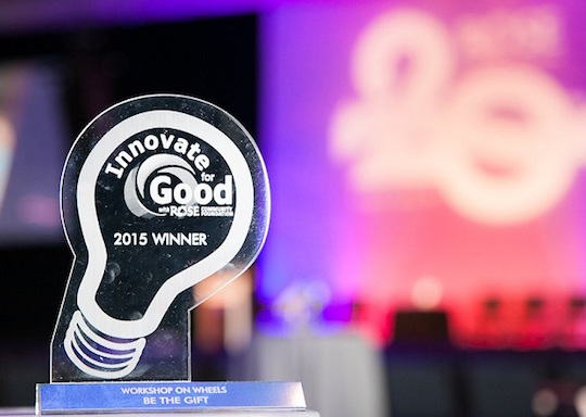 Rose Community Foundation launched Innovate for Good in 2015.