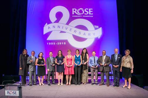 Rose Community Foundation's Imagine celebrated 20 years.