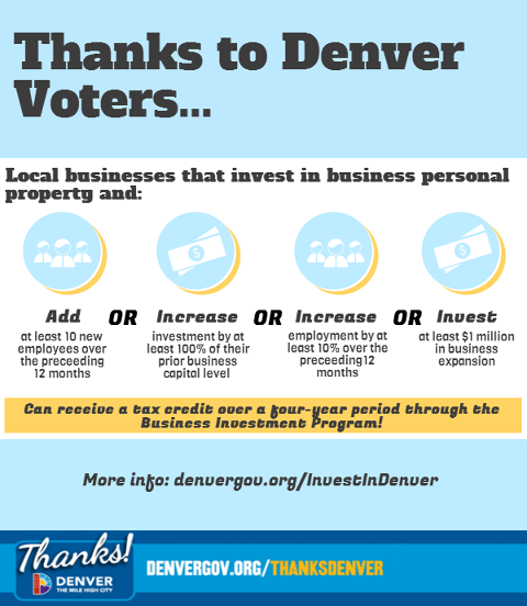 Denver Launches Incentive Program For Job Creators