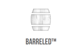 Barreled logo