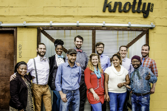 Denver's Knotty Tie Co. is one of 420 Colorado businesses that have received support from Ours to Own.